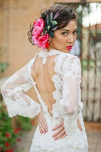 hairstyle for bride in cancun